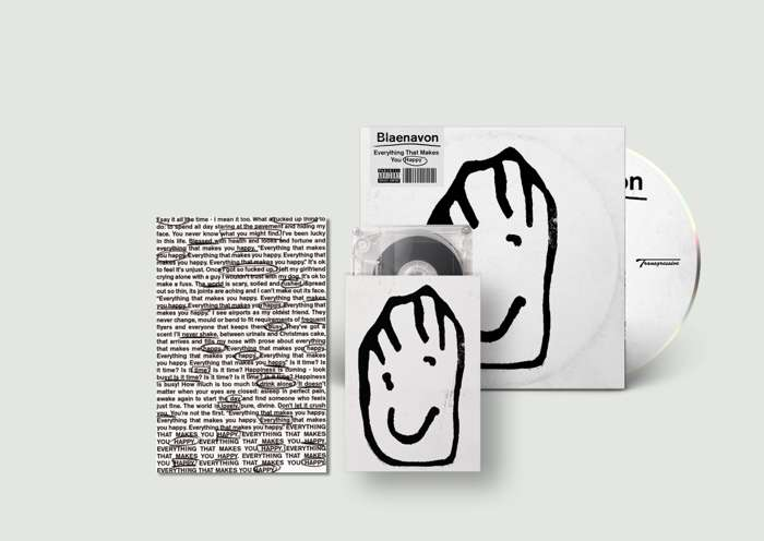 Everything That Makes You Happy - CD + Cassette + Signed Postcard - Blaenavon