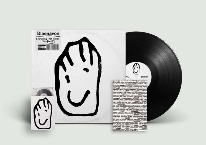 Everything That Makes You Happy - LP + Cassette + Signed Postcard - Blaenavon