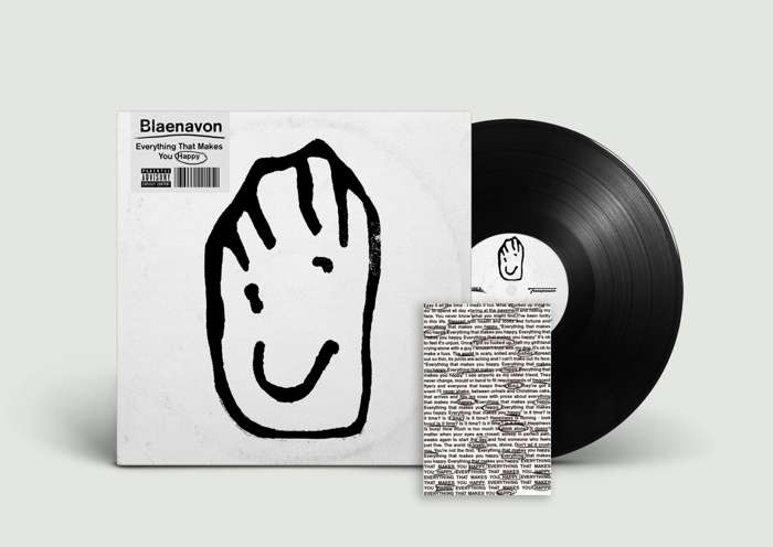Everything That Makes You Happy - LP + Signed Postcard - Blaenavon