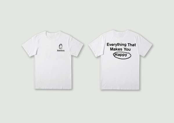 Everything That Makes You Happy T-shirt - Blaenavon