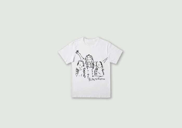 Line drawing T-Shirt - Blaenavon