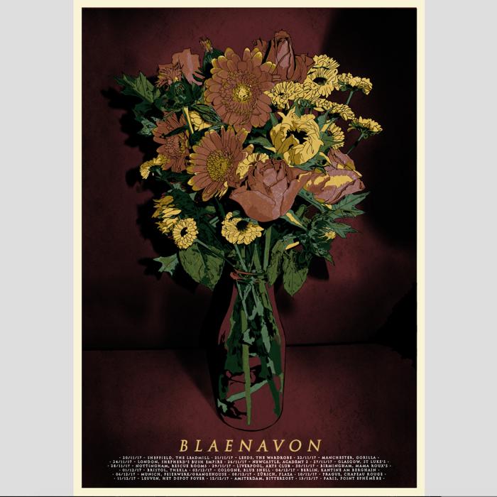 Tour print - Blaenavon