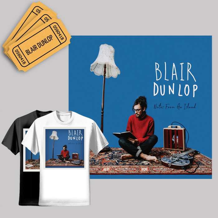Album + Ticket + T-Shirt - Blair Dunlop