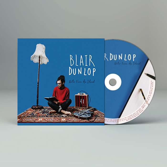 Notes from an Island (Signed CD) - Blair Dunlop