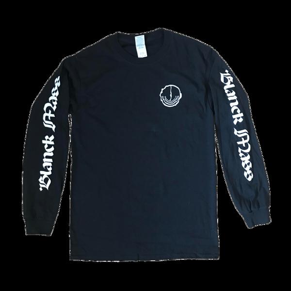 Long Sleeve Logo T-Shirt (with large back print) - Blanck Mass