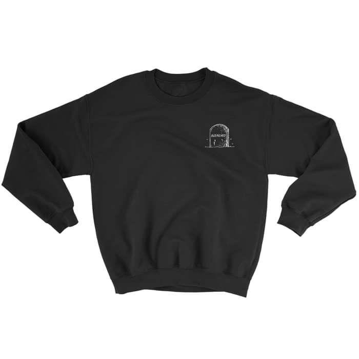 Gravestone Sweatshirt - Bleached