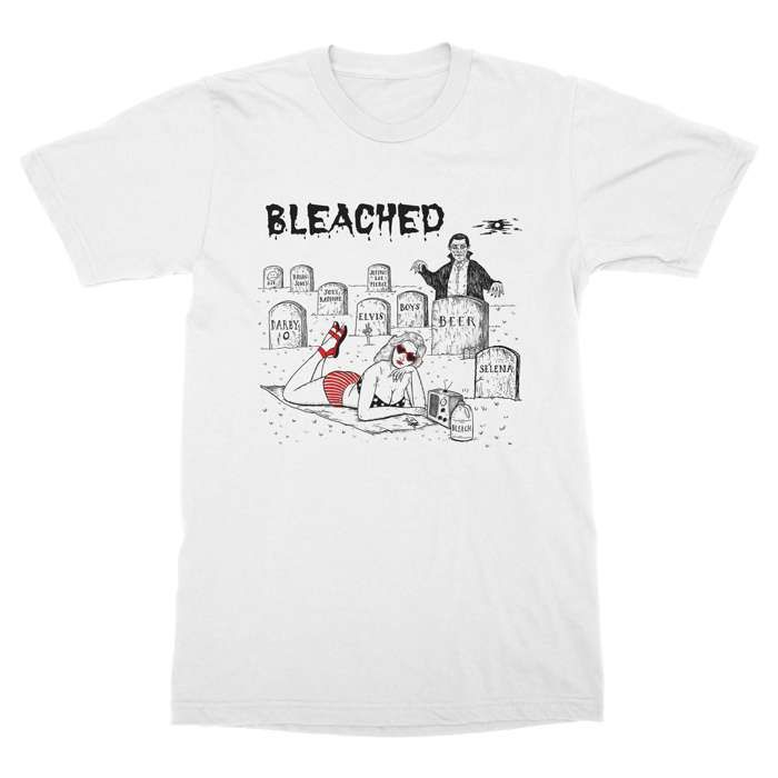 Graveyard Tee - Bleached