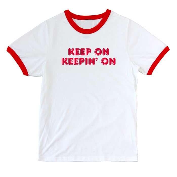 Keep On Keepin' On Tee - Bleached