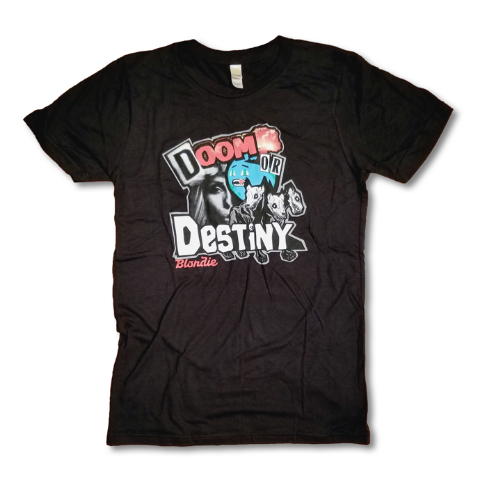 DOOM OR DESTINY TEE - Blondie