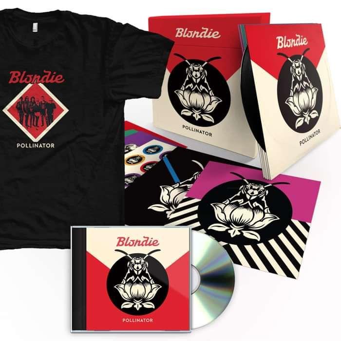 POLLINATOR - BOX SET, CD & T-SHIRT BUNDLE - BlondiepollUK