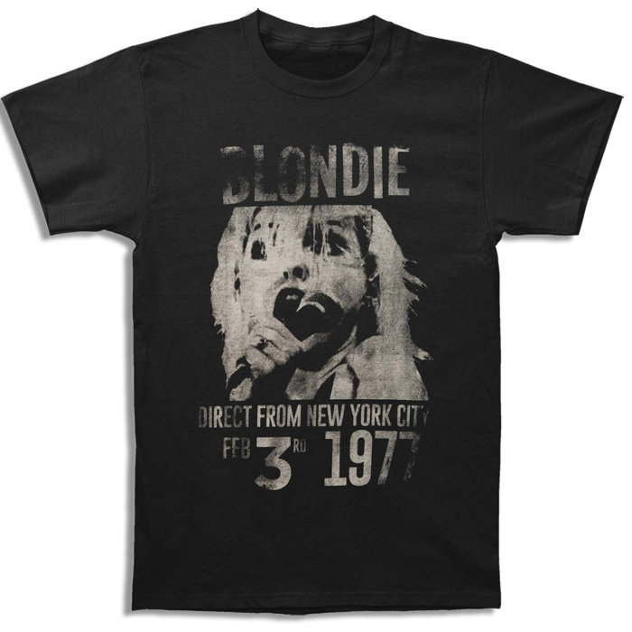 1977 T-SHIRT - BlondieUS