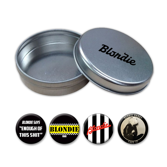 Button Tin Pack - BlondieUS