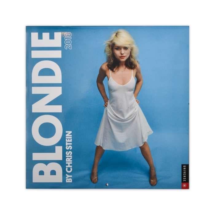 BY CHRIS STEIN 2018 CALENDAR-SIGNED - BlondieUS
