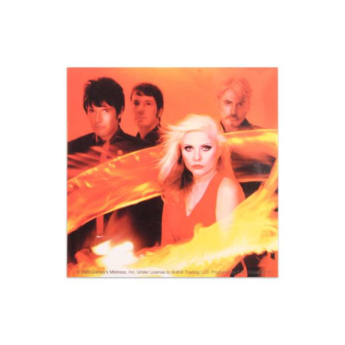 RING OF FIRE BAND PHOTO STICKER - BlondieUS