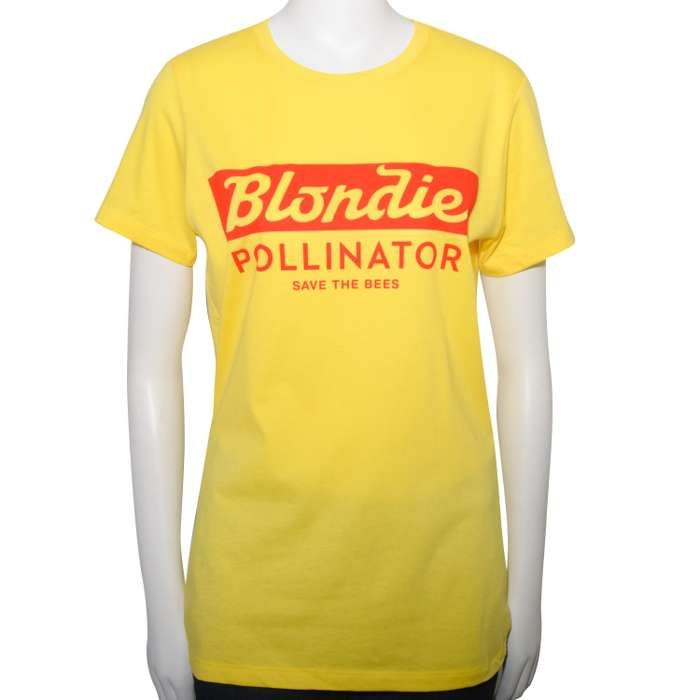 SAVE THE BEES YELLOW WOMEN'S T-SHIRT - BlondieUS