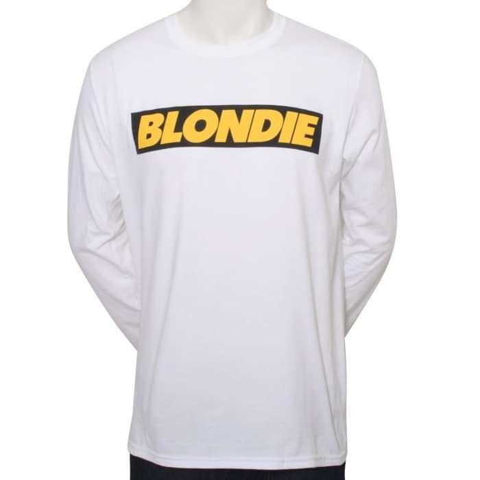 SELF-TITLED ALBUM LOGO LONG SLEEVE T-SHIRT - BlondieUS