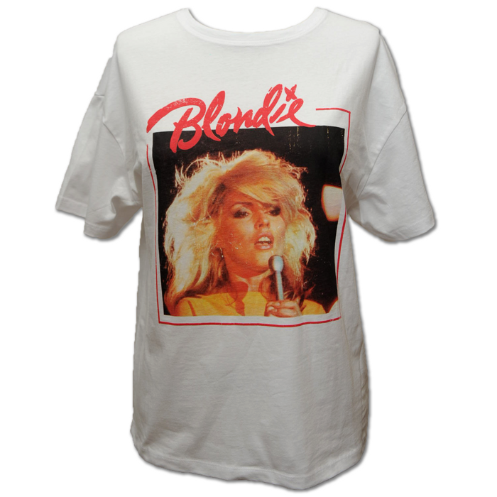 UNI HEART OF GLASS COVER TEE - BlondieUS