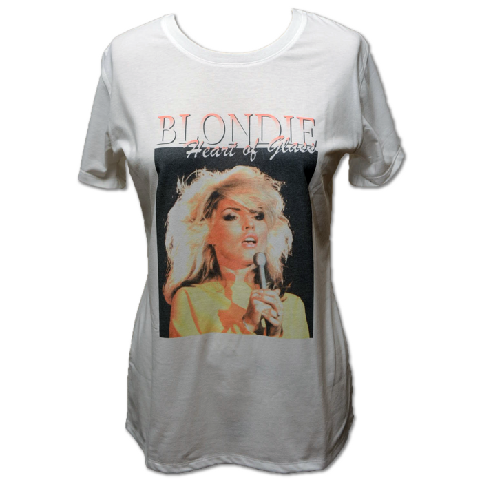 UNI HEART OF GLASS TEE - BlondieUS