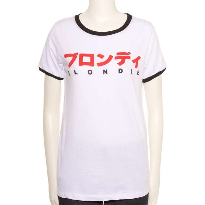 WOMEN'S CLASSIC JAPAN TOUR T-SHIRT - BlondieUS