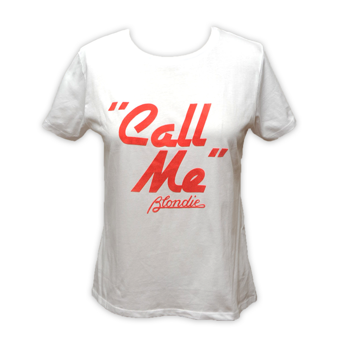"WOMENS FELT ""CALL ME"" TEE - BlondieUS"