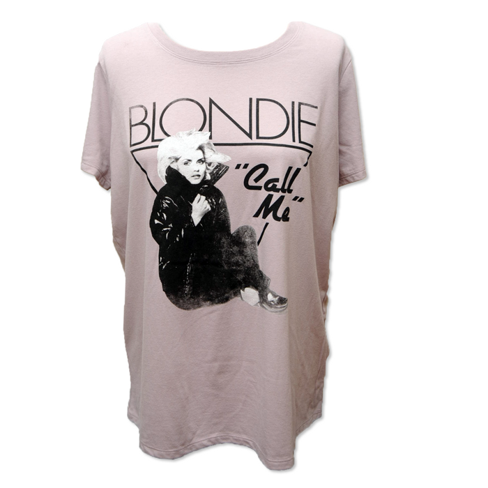 WOMENS LAVENDER CALL ME TEE - BlondieUS