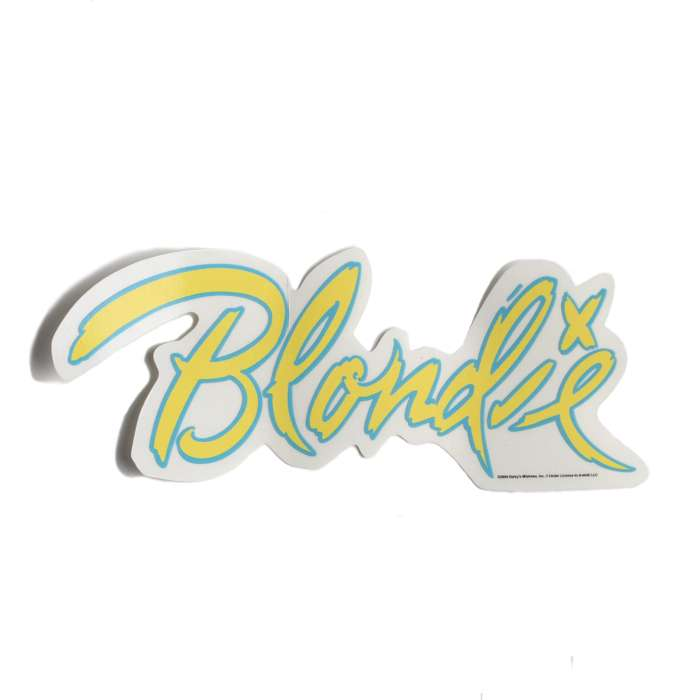 YELLOW BLONDIE STICKER - BlondieUS