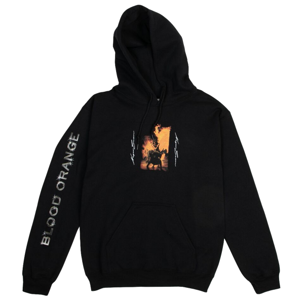 Flames Hoodie - Blood Orange