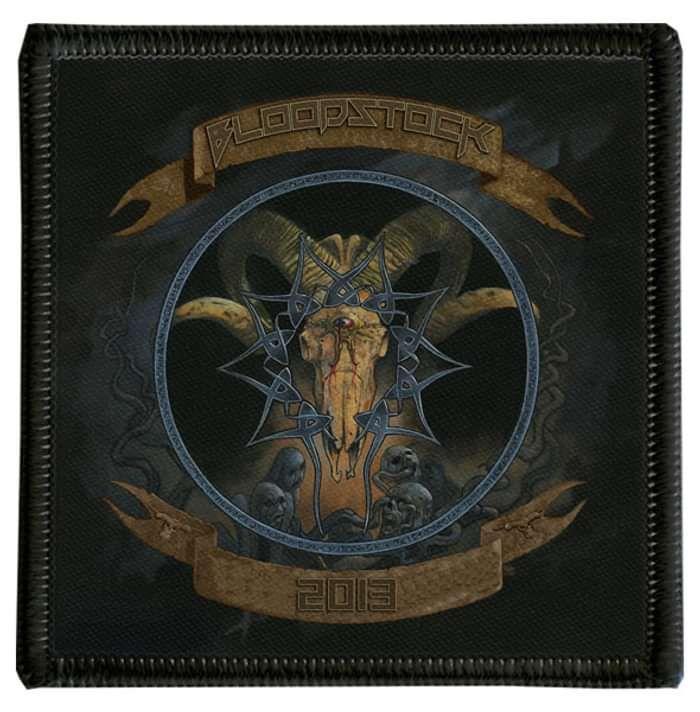 2013 Bloodstock Celtic Skull Patch - Bloodstock