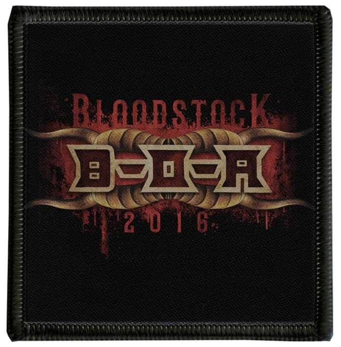 2016 Bloodstock Drips Patch - Bloodstock