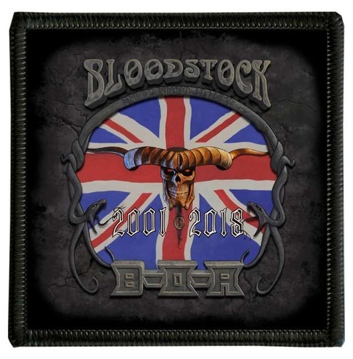 BOA 2018 Flag Patch - Bloodstock