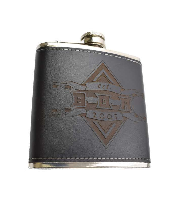 "BOA ""Card"" Hip Flask - Bloodstock"