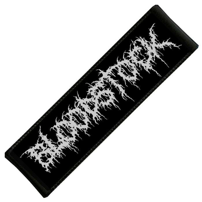 BOA Metal Text Patch - Bloodstock