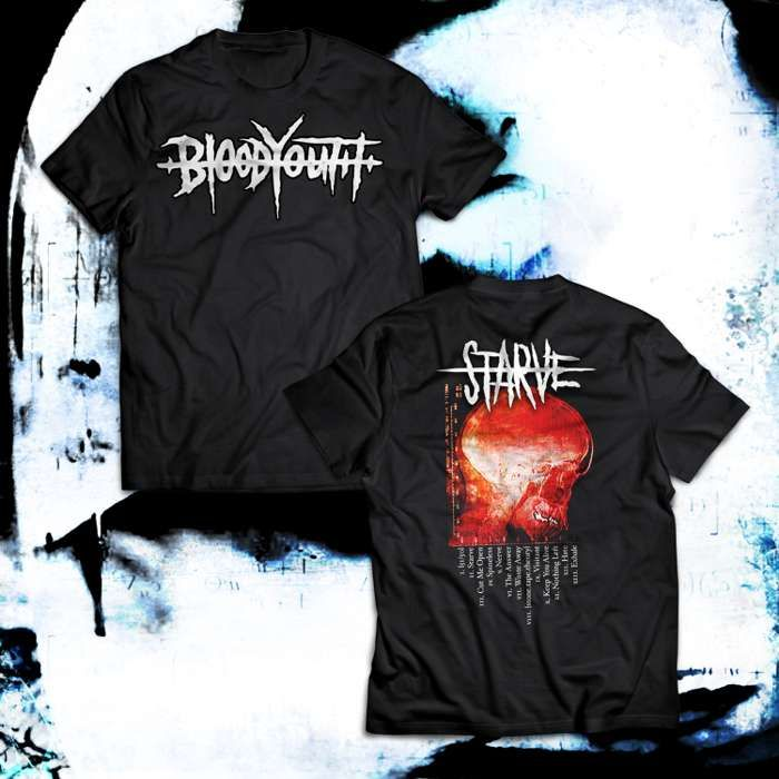 STARVE - Album T-Shirt - Blood Youth