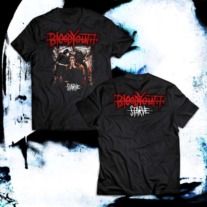 STARVE - Photo T-Shirt - Blood Youth