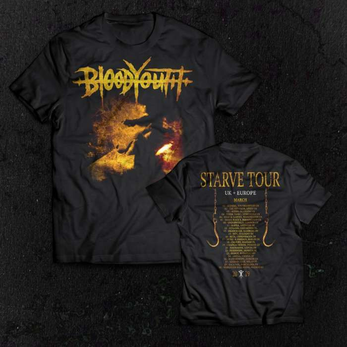 STARVE - Tour T-Shirt - Blood Youth