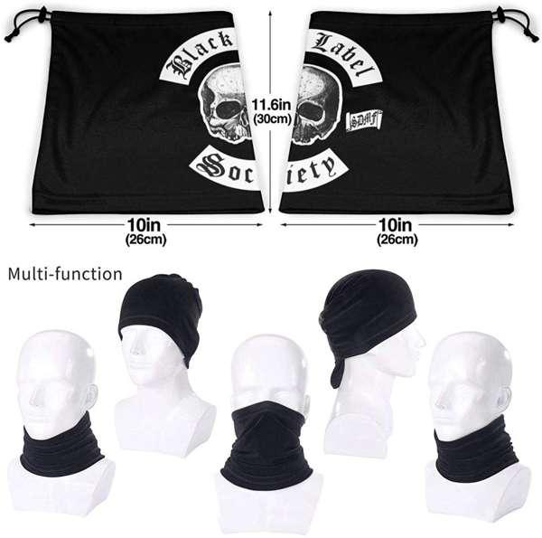 Black Label Society Facemask - Bls Nation