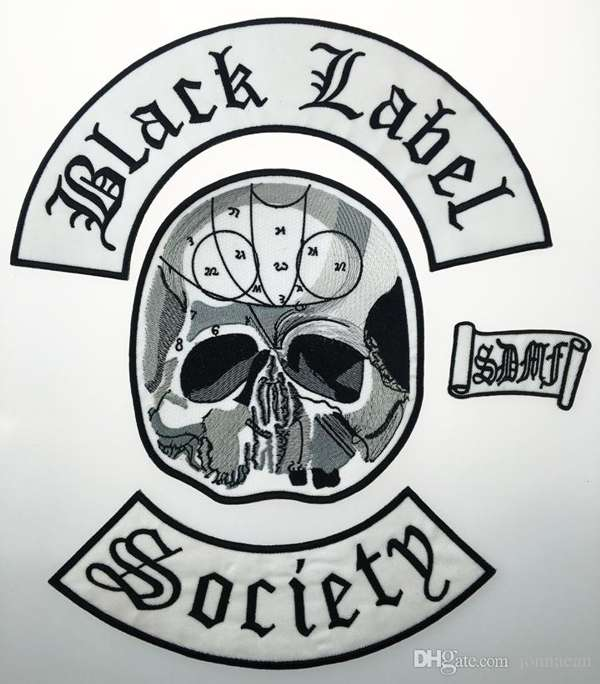 Black Label Society Patches - Bls Nation