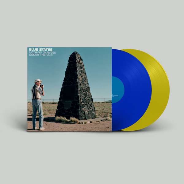 Nothing Changes Under the Sun - Blue & Yellow vinyl 20th Year Anniversary Reissue + Bonus Disc +  DL (US Shipping) - Blue States