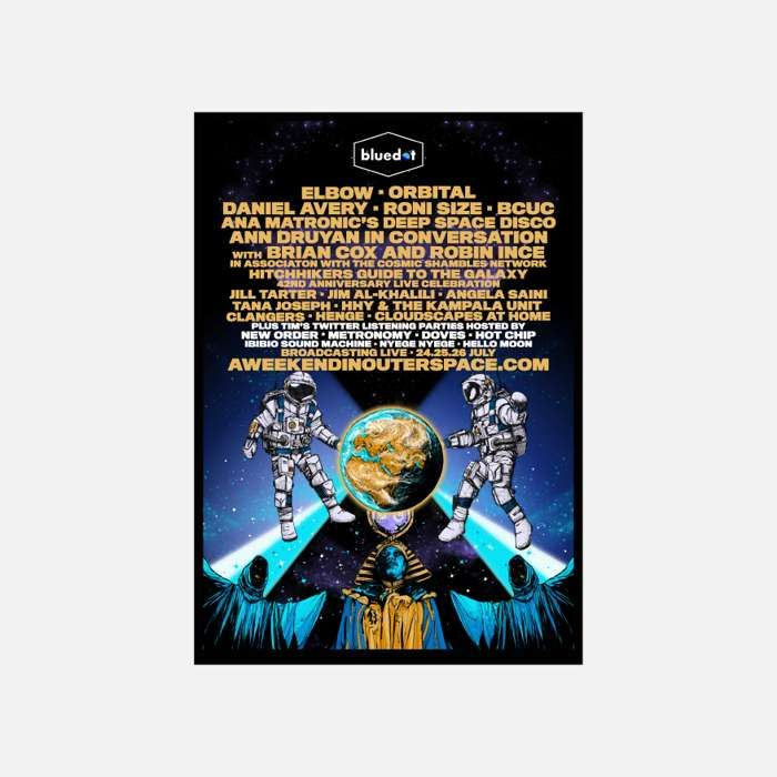 Bluedot 2020 Limited Edition Print (A2) - Bluedot Festival