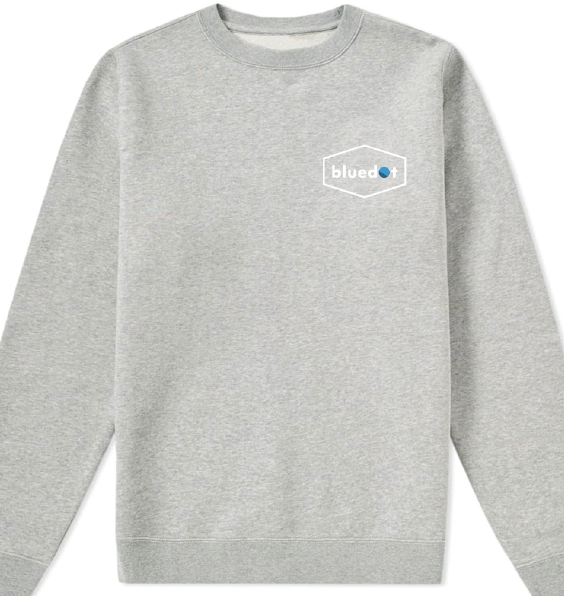 Embroidered Logo Sweatshirt - Bluedot Festival
