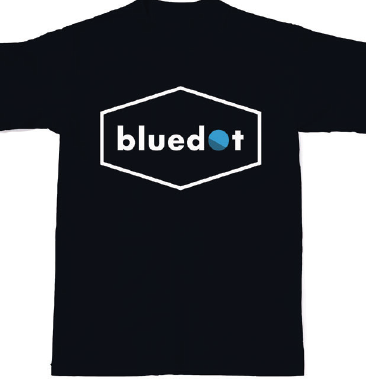 The Official Bluedot 2018 Logo & Line Up Tee (FINAL REMAINING) - Bluedot Festival