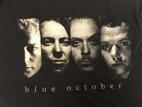 Band (Black Tee) - Blue October