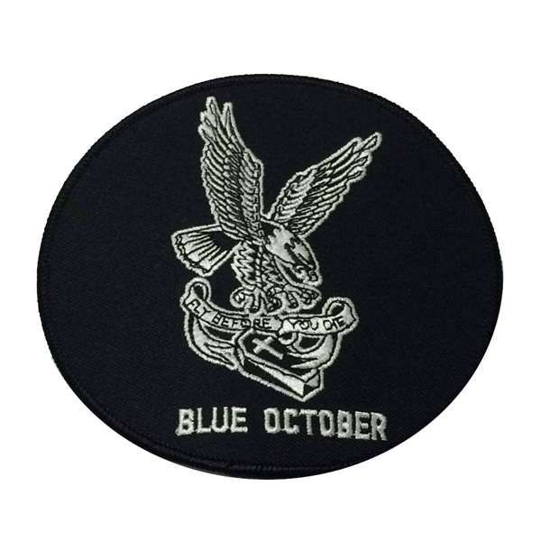 Eagle – Patch - Blue October