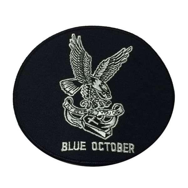 Eagle – Patch - Blue October