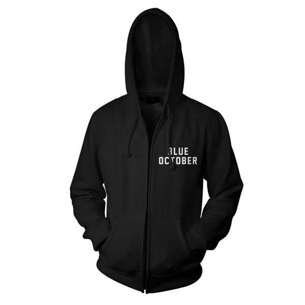 Eagle – Zip Hood - Blue October