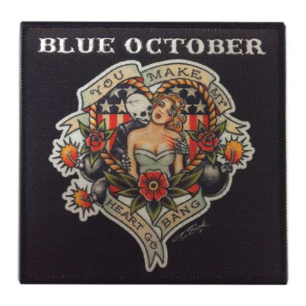 Heart Go Bang – Patch - Blue October