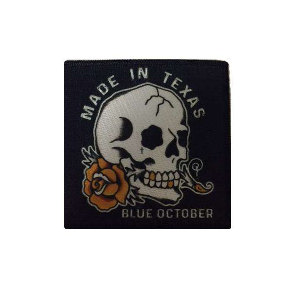 Made In Texas – Patch - Blue October