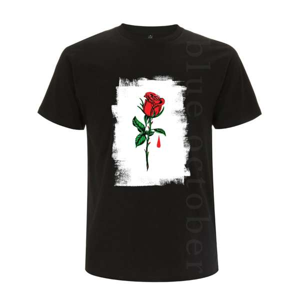 Rose Drip – Men's Tee - Blue October