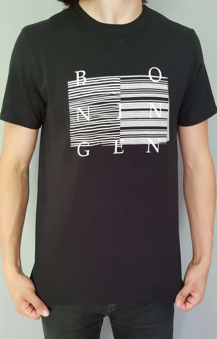 Bo Ningen - 'Lines' T-shirt - Black - Back in stock - Bo Ningen
