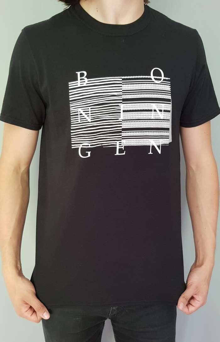 Bo Ningen - 'Lines' T-shirt - Black - Only available in M. - Bo Ningen